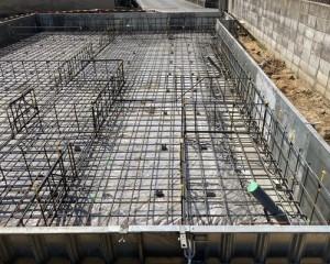新築工事配筋
