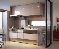 PLAN5/自分の時間を大切にする、個性的なキッチン空間へ【クリナップ】SSシリーズ・ライトパッケージ