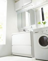カウンタータイプ洗面化粧台【ノーリツ】キューボ