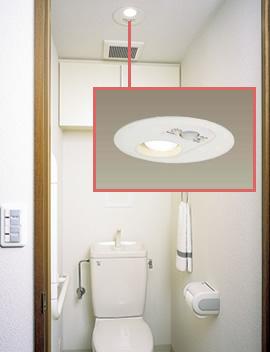 トイレの照明1