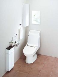 アメージュCシャワートイレ(床排水・手洗付)【INAX】