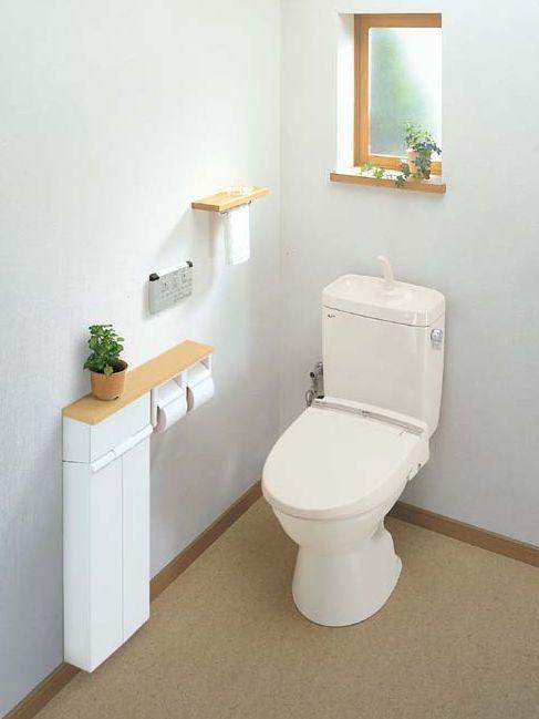 アメージュC便器(床上排水・手洗付)【INAX】