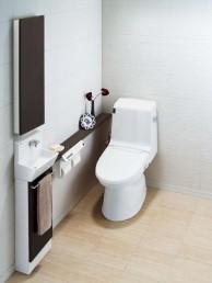 アメージュZ シャワートイレ0.5坪床排水手洗なしセットプラン【INAX】