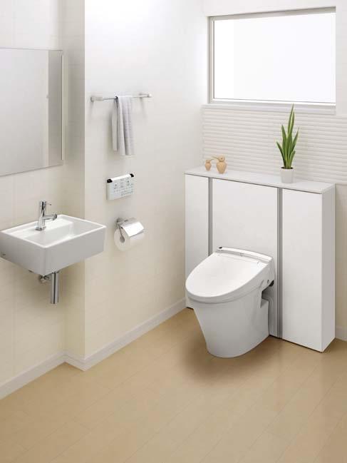 エレシャスⅠ型ワイド間口床排水手洗なしセットプラン【INAX】