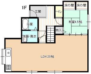 kawaguchi1-1440madori1F-j
