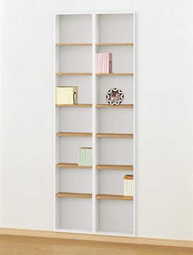 壁厚利用でスペースを有効活用1